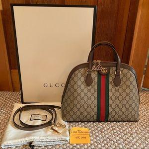 Gucci Ophidia GG Medium Satchel